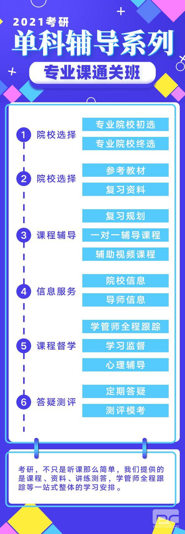 21考研专业课通关班_中山考研