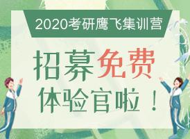 2020考研鹰飞体验营
