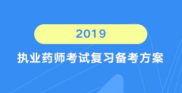 2019执业药师复习