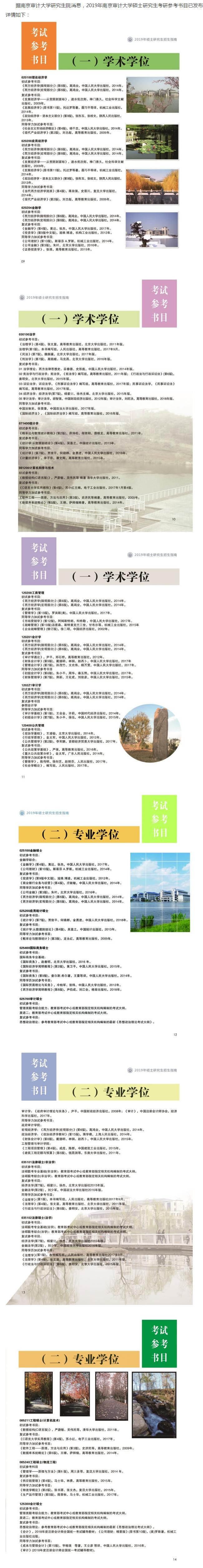 2019考研参考书