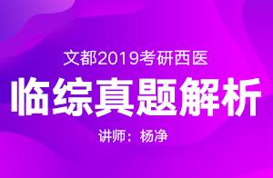 文都教育2019考研西综真题解析暨2020高分规划(杨净)01