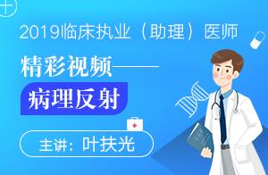 文都教育2019临床执业(助理)医师精彩视频——病理反射