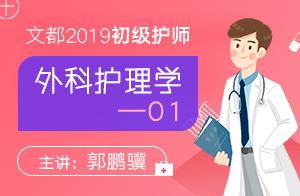 2019初级护师外科护理学01