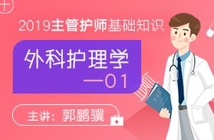 2019主管护师基础知识外科护理学01
