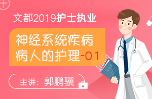 2019護士執業神經系統疾病病人的護理01