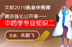 2019执业中药师公开课程—中药学专业知识二1