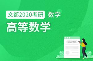 2020考研数学强化课程高等数学(张同斌)