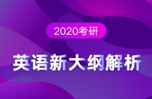2020考研英语新大纲解析暨后期备考指南(王泉)