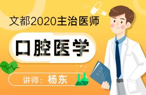 2020主治醫師口腔醫學—基礎精講口腔內科學