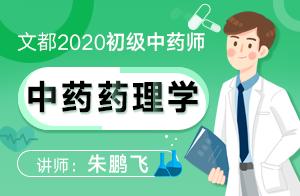 2020初級中藥師—基礎精講中藥藥理學