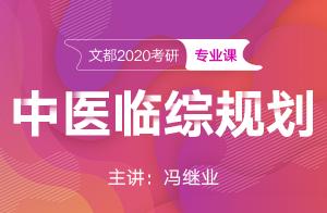 文都2021考研中医临综复习规划(冯继业)