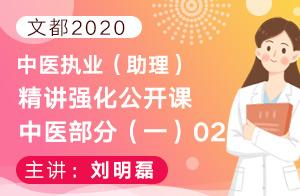 文都2020中医执业(助理)精讲强化公开课中医部分(一)02