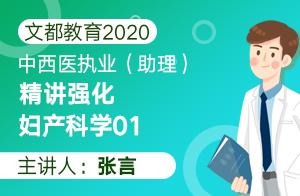 文都教育2020中西医执业(助理)精讲强化妇产科学01