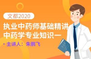文都2020執業藥師中藥一精講課-中藥材的產地加工(朱鵬飛)