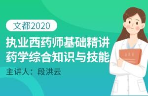 2020執業藥師西藥綜合精講課-處方審核結果的分類(段洪云)