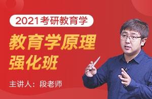 文都教育2021考研教育学强化班教育学原理(段老师)