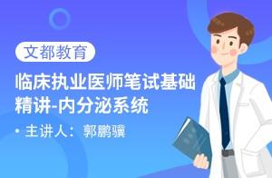 临床执业医师笔试基础精讲 内分泌系统