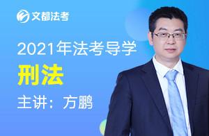 文都法考2021刑法先修导学-方鹏